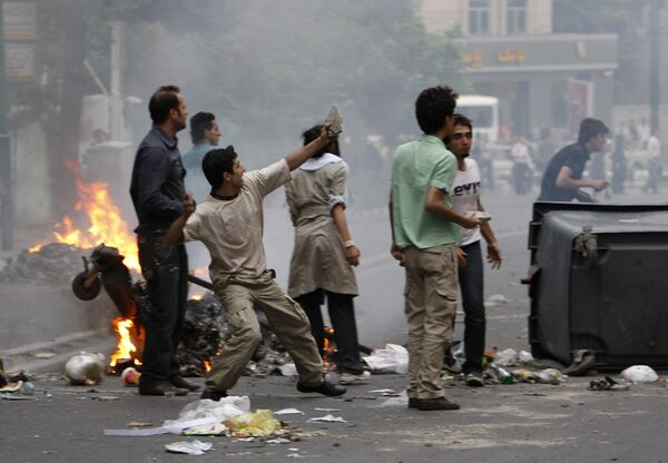 Беспорядки в Иране