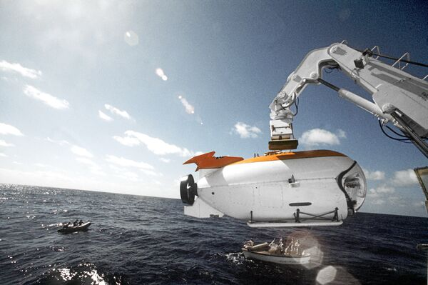 Глубоководный аппарат Мир