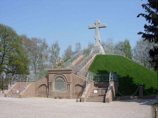 Памятники Полтавской битвы