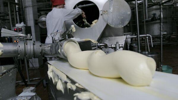 Выработка сливочного масла
