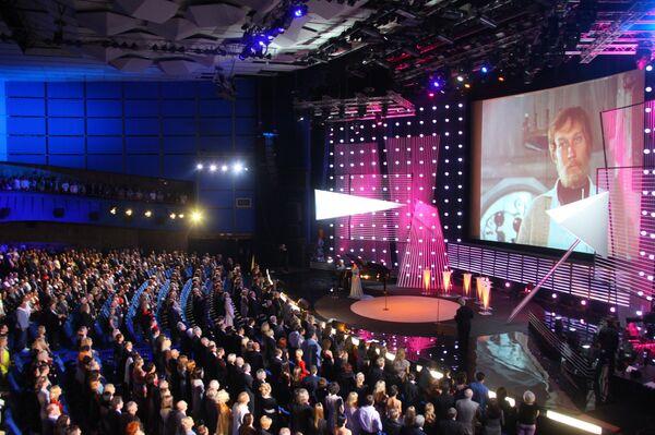 Церемония открытия 31-го Московского Международного кинофестиваля