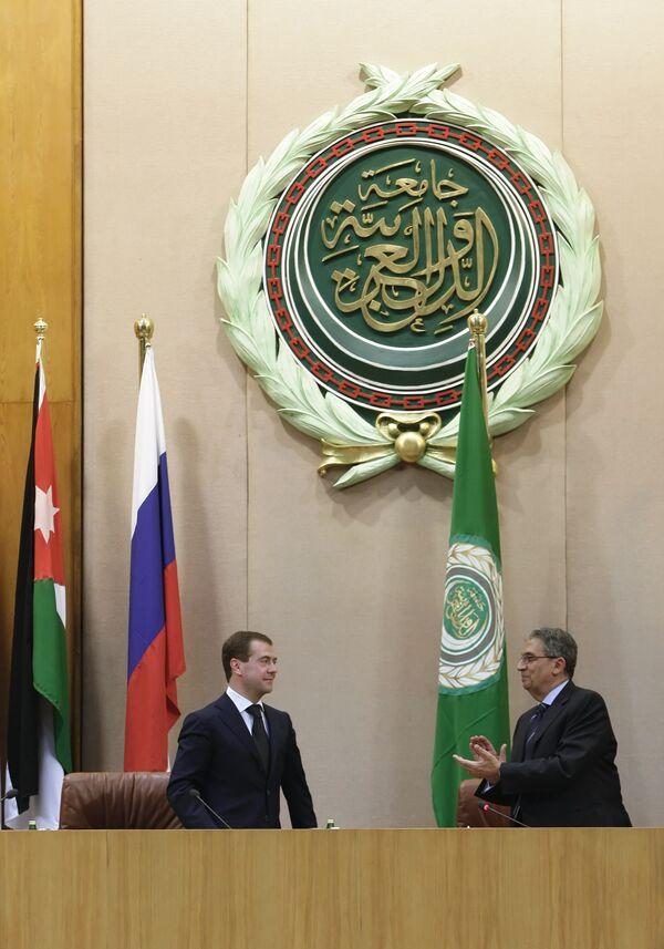 Штаб-квартира Лиги арабских государств (ЛАГ). Архив