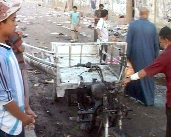 Мощный взрыв в Багдаде унес жизни более 70 человек