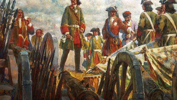 Иллюстрация Полтавская победа