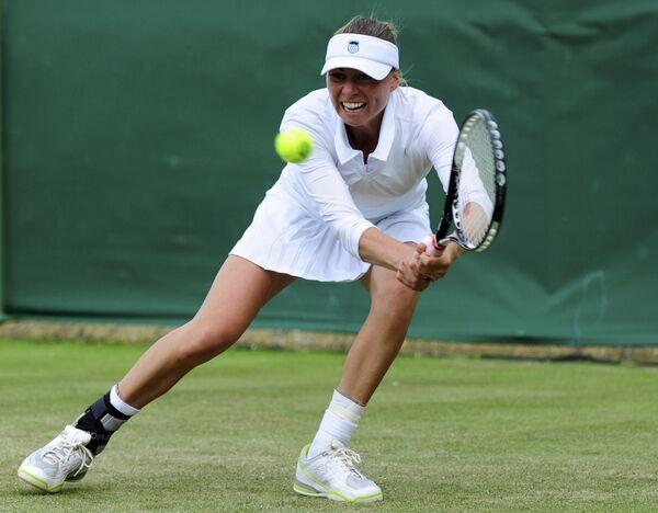 Звонарева обыграла Чакветадзе в российском дерби на US Open