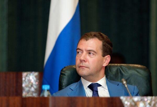 Медведев обсудит с руководством Анголы двустороннее сотрудничество