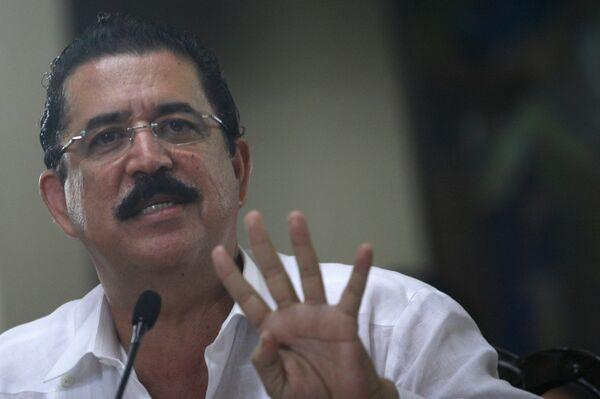 Свергнутый президент Гондураса Мануэль Селайя отправится в ссылку в Мексику в ближайшее время