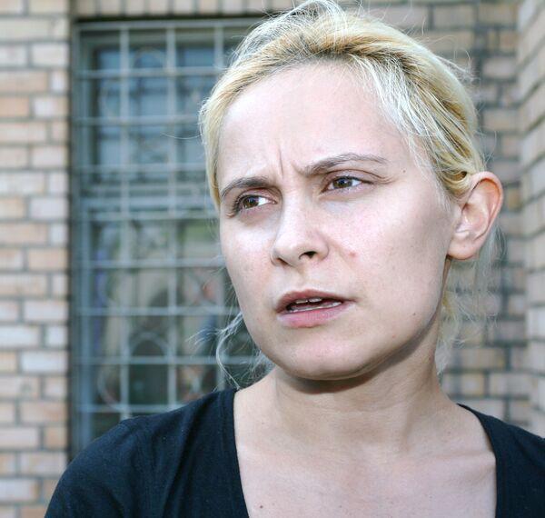 Нина Юрова, обвиняемая во взломе страницы певца Филиппа Киркорова на сайте Одноклассники.ру