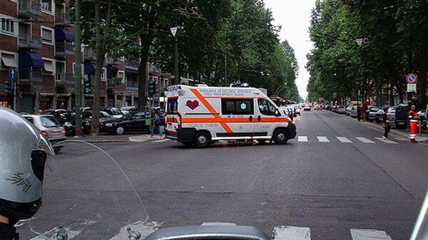 Итальянская машина скорой помощи. Архив