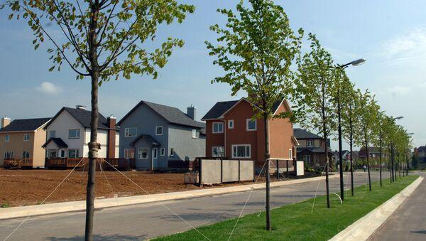 Продажи новых домов в США неожиданно выросли