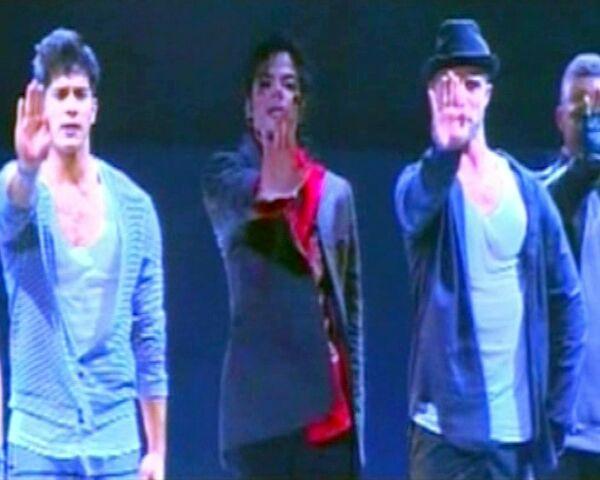 Кадры репетиции Майкла Джексона за два дня до смерти