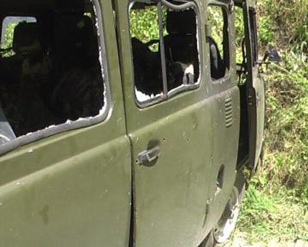 Чеченские милиционеры попали в засаду в Ингушетии - девять погибших