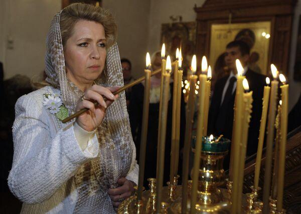Супруга президента РФ С.Медведева приняла участие в праздничных мероприятиях в Муроме