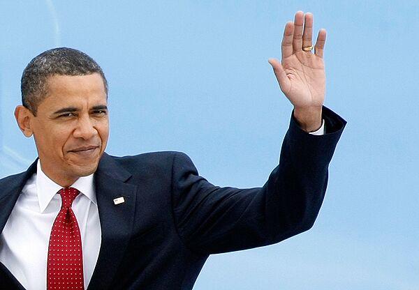 Барак Обама прибыл в Москву