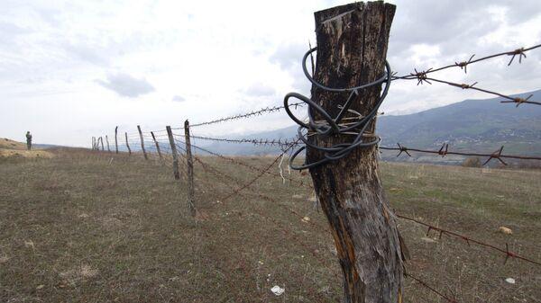 Разграничительная линия между Южной Осетией и Грузией