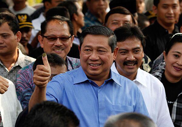 Президент Индонезии Сусило Бамбанг Юдхойоно
