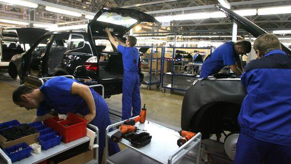 Предприятие Автотор Холдинг начинает производство внедорожников BMW X5 и X6 на своем заводе в Калининградской области. Архивное фото