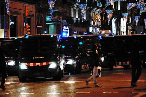 Испанская полиция