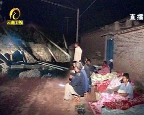 Землетрясение в Китае: один человек погиб, тысячи остались без крова