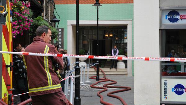 Пожар в лондонском районе Сохо локализован
