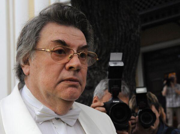 Александр Ширвиндт, удостоенный премии Хрустальная Турандот в номинации За долголетнее доблестное служение театру