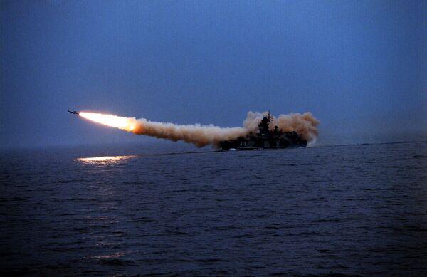 Очередной пуск ракеты Булава оказался неудачным