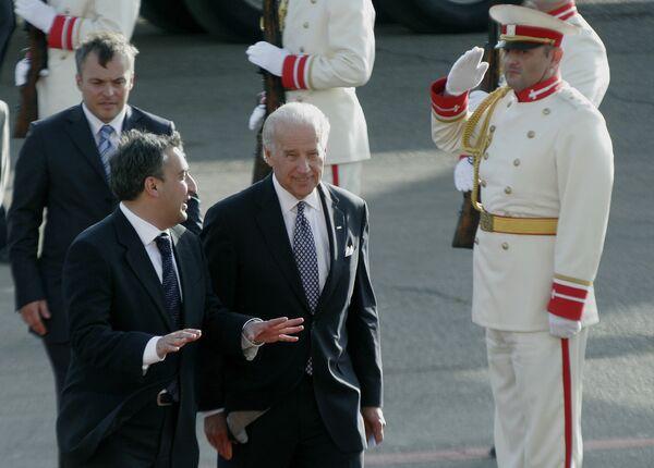 Вице-президент США Джозеф Байден прибыл в Тбилиси