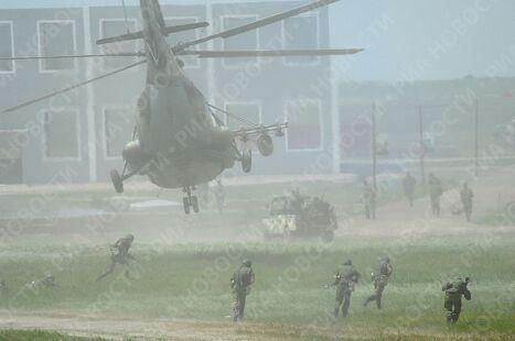 Генеральная репетиция совместных российско-китайских антитеррористических учений Мирная миссия-2009