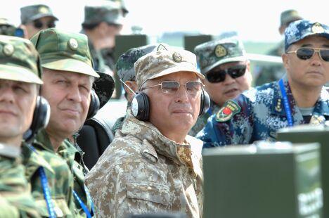 Генеральная репетиция антитеррористических учений Мирная миссия 2009 в Китае