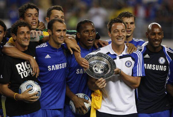 Футболисты лондонского Челси