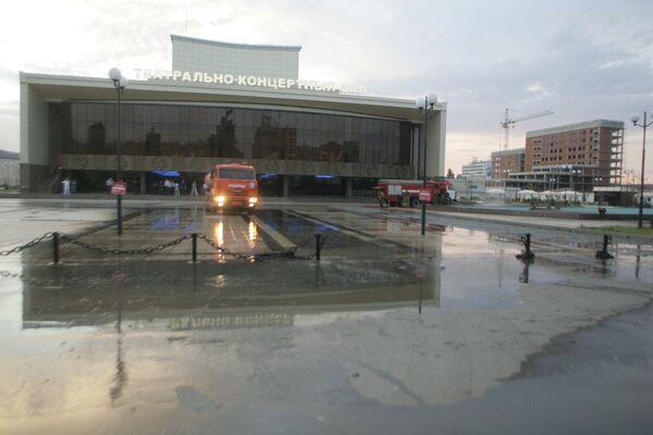 Театрально-концертный зал в Грозном