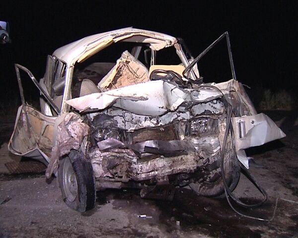Крупная автоавария произошла в Ногайском районе Дагестана
