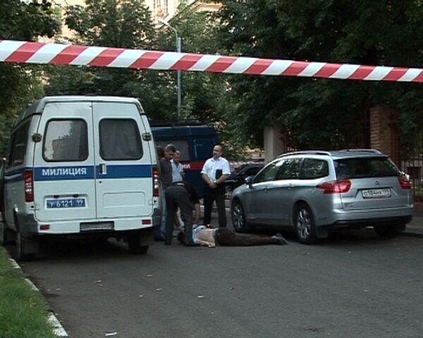 Киллер расстрелял сотрудника компании Алмаз-Антей в Москве