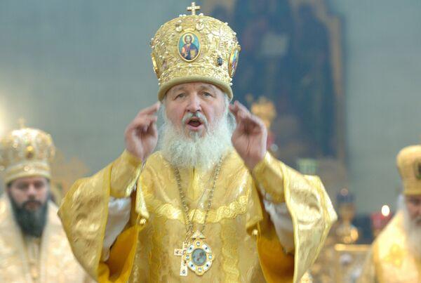 Патриарх Кирилл возглавит праздничную литургию в Почаевской лавре
