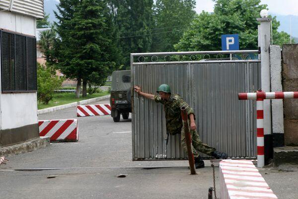 РФ и Грузия вскоре обменяются уведомлениями об открытии КПП на границе