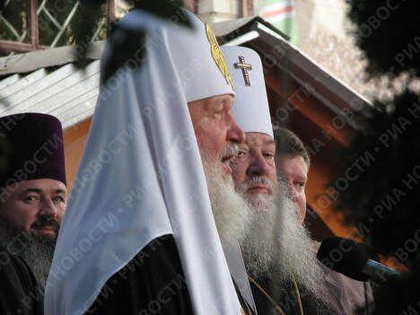 Как Украина встречала своего патриарха