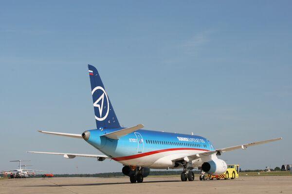 Газпромавиа приобретает 10 самолетов Суперджет 100