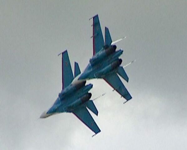 Аудиозапись переговоров пилотов во время столкновения Су-27