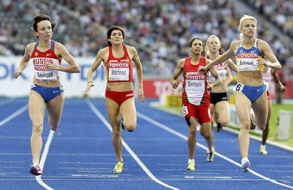 Российская спортсменка Мария Савинова