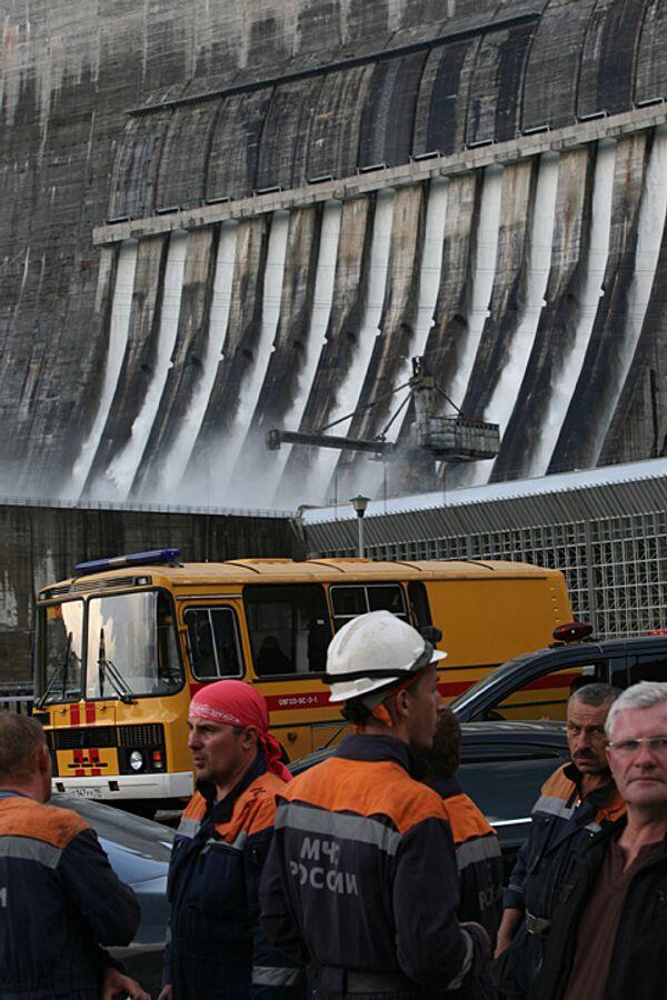 Ситуация на Саяно-Шушенской ГЭС