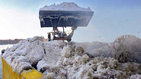 Снеготаялки Москвы переплавили этой ночью 22 тыс кубометров снега
