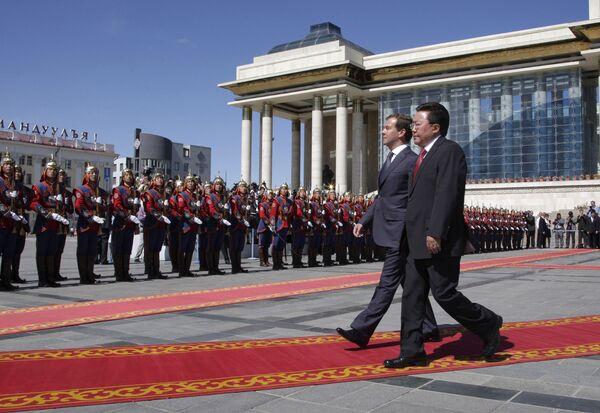 Медведев в Монголии отметит 70-летие победы на Халхин-Голе и Наадам