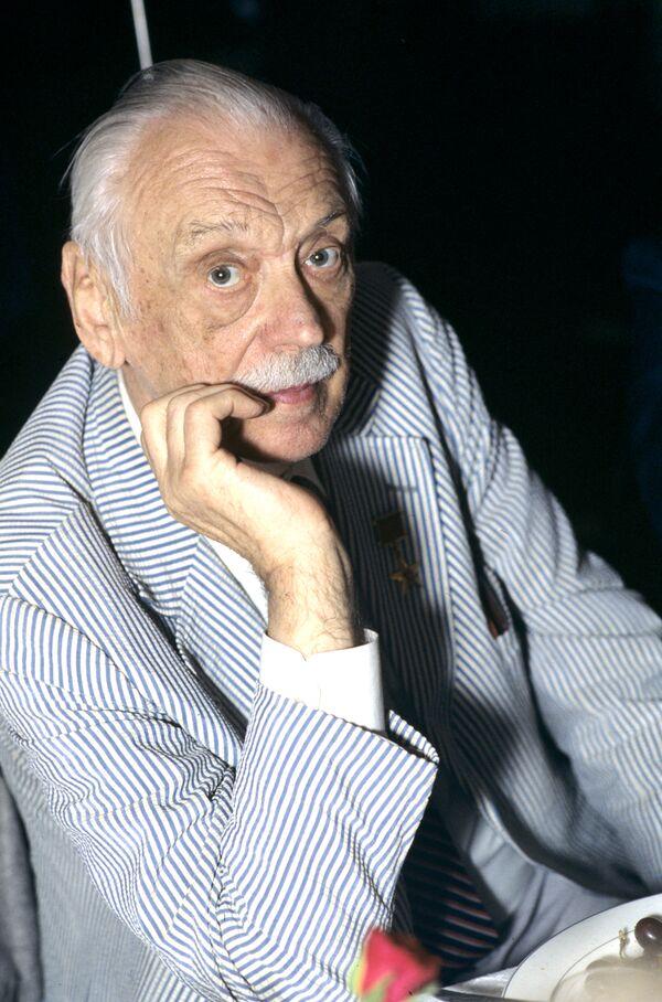 Писатель Сергей Михалков