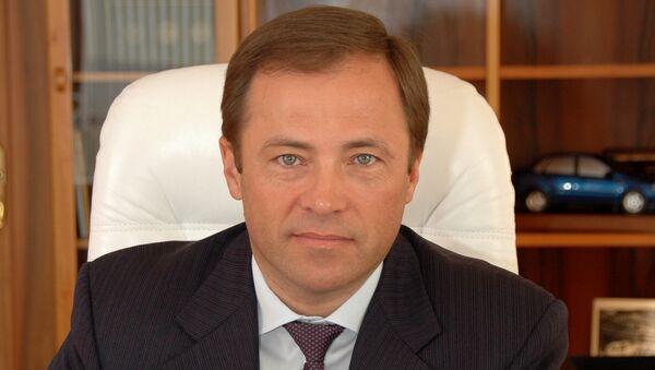 Президент АвтоВАЗа Игорь Комаров. Архивное фото