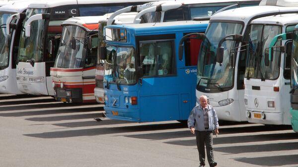 Автовокзал в Москве. Архивное фото