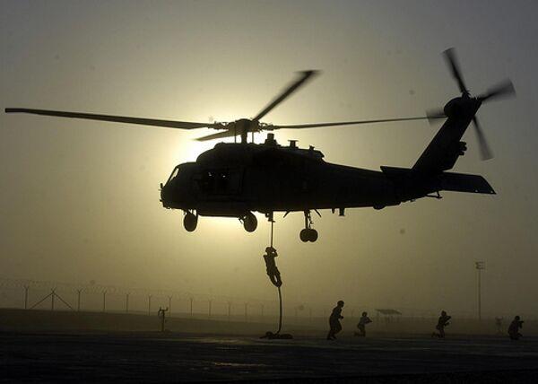 Разбившийся вертолет польских пограничников обнаружен в Белорусии