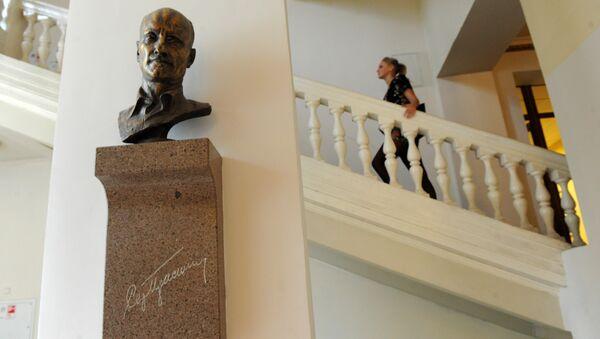 В здании Всероссийского государственного университета кинематографии имени С.А.Герасимова (ВГИК). Архивное фото