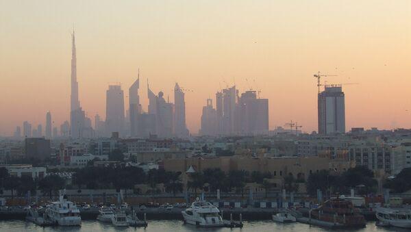 Город Дубаи. Архив