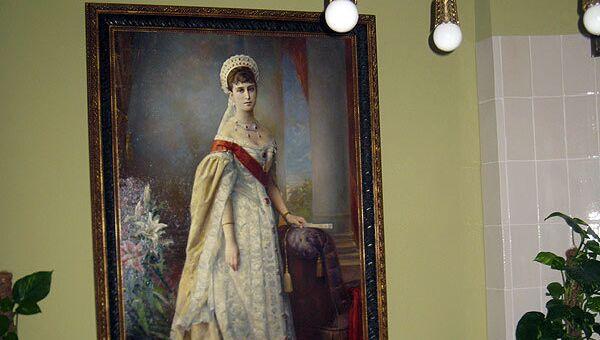 Портрет основательницы обители великой княгини Елизаветы Федоровны. Архивное фото