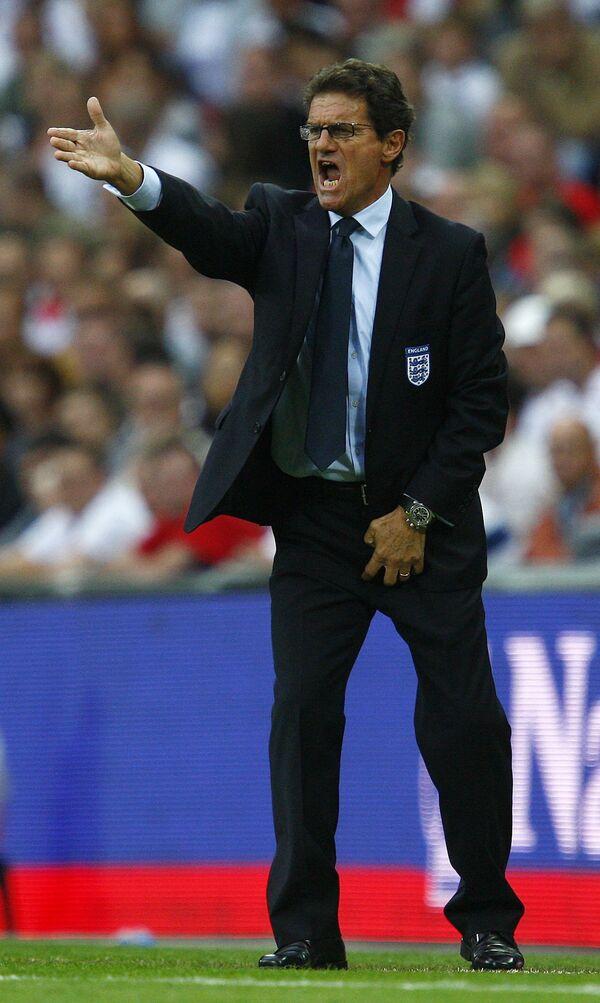 Сборная англии по футболу и фабио капелло